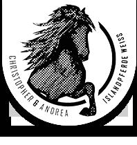 Islandpferde Weiss Logo