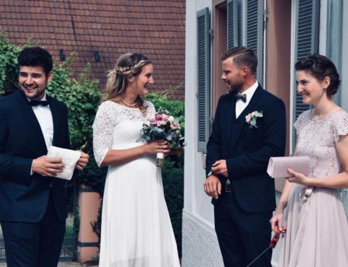 Mr. & Mrs.: We said yes!